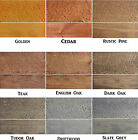 SAFEWAY - EXTERIOR WOODSTAIN - GREAT QUALITY & VALUE WOOD STAIN DYE - MAKES 5L