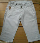 Womens Replay Jeans Shorts Long Linen W26 W28