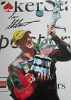 IAN HUTCHINSON HAND SIGNED 12x8 PHOTO ISLE OF MAN TT ih001