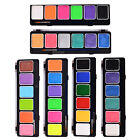 OPHIR 6 Colours Body Paint Set Pearl Fluorescent with Brush Face Model Tattoo