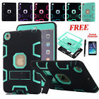 Heavy Duty Shockproof Hybrid Rubber Tough Case Cover Stand F iPad 2/3/4 Mini 1/2