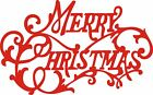 Merry Christmas window sticker decal wall art sticker