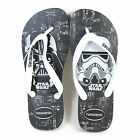Havaianas Unisex Star Wars Rubber Slip On Flip Flop Black / White