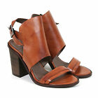 H By Hudson Women's Leola Calf Leather Ankle Boot Tan
