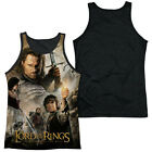 LORD OF THE RINGS KING POSTER Men's Black Back Tank Top Sleeveless Tee SM-3XL