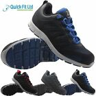 NEW MENS GROUNDWORK SAFETY LIGHTWEIGHT WORK SHOE STEEL TOE CAP TRAINER SIZE