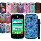 For ZTE Prelude 2 Z667G TPU SILICONE Rubber SKIN Soft Case Phone Cover + Pen