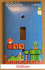 power outlet cover plate - Super Mario brothers Games Light Switch Duplex Outlet Cover Plate Home Decor