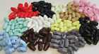 19mm PLASTIC BABY TOGGLE BUTTONS BABYKNIT VARIOUS COLOURS TO CHOOSE