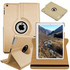 Leather 360 Degree Rotating Smart Stand Case Cover For APPLE iPad Air 4 3 2 mini <br/> 1st Class Post✔FREE Stylus Pen✔iPad 9.7 2017 in Stock
