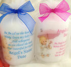 Personalised Babyloss Angel Candle, Book Of Life, Memorial, Remembrance, Absence