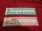 SUPREME 2014 S/S PINK PANTHER CDG BOX LOGO STICKER CLEAR PCL TRANSPARENT