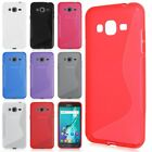 S Line TPU Silicone Rubber Soft Gel Case Cover Skin For Samsung Galaxy J3 (2016)