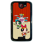 Powerpuff Girls Music Band for Htc One M7 M8 M9 Htc One X Desire 816 Phone Case