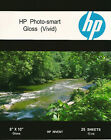 HP Photo-smart Gloss Vivid~8 x 10 Photo Paper~500ct