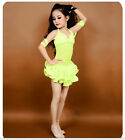 W017 NEW 2016 Kid Child Belly Dance Dancing Costumes Suits 3PCS Top Bra Skirt