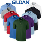 Gildan MEN'S PIQUE POLO SHIRT SPORTS GOLF SMART PREMIUM COTTON COLLAR TOP S-2XL