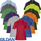 Gildan MEN'S POLO SHIRT GOLF TENNIS SPORTS DRYBLEND WICKING HI VIS COTTON S-5XL