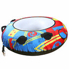 TBF Towable Inflatable Covered 1/2/3 Rider Water Tubes Watersports Donut Ringo