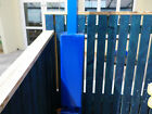 Padded Post Protectors 75mm x 75mm x 1500mm high x 50mm thick - Canopy, Safety