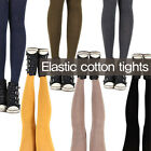 (Free shipping) Elastic cotton tights / Six colors / Made in korea / Warm tights