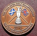 OPEN COMMEMORATIVE COIN GOLF BALL MARKER s 2000 - 2012 LIMITED EDITION