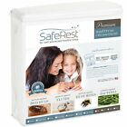 "9""- 12"" SafeRest Waterproof Zippered Bed Bug Proof Mattress Encasement"