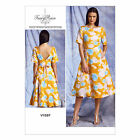 Vogue American Designer 1397 Tracy Reese Flared Dress Sewing Pattern V1397