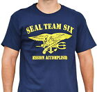 navy seals six - SEAL TEAM SIX MISSION ACCOMPLISHED navy Military special operations T-Shirt