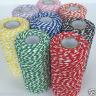 BAKERS TWINE 1mm red, green, pink, yellow, blue, lilac, black per 5 METRES