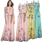 Ladies Womens Maxi Boho Summer Long Skirt Evening Cocktail Party Sun Dress S-XL