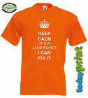 T Shirt KEEP CALM IT´S A LAND ROVER ..., für Offroad, Defender, Discovery, Fans