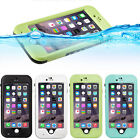 New Waterproof Case Shockproof Fingerprint Cover For Apple iphone 6 6S Plus 5.5""
