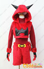 Pokemon Team Magma Grunt Ruby Cosplay Costume hoodie plush female red