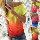 Sexy Women's Ladies Summer Casual Short Sleeve T-shirt Off Shoulder Tops Blouse
