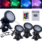 Garden Fountain Aquarium Fish Tank Pool Pond 36 LED SpotLight Underwater Lights