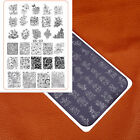 Nail Art Template Flowers Cartoon Baby Stamping Image Plate Stencil Manicure OS