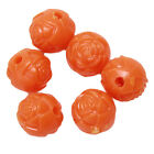 200x Hot Sale Assorted Colorful Roses Shape Plastic Beads Fit Jewelry Making D