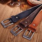 Fashion Men's Casual Flag Vintage Leather Belt Strap Pin Buckle Waistband #JP