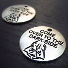 Star Wars Darth Vader Come Over To The Dark Side Charms C0622 - 5, 10, 20PCs $3.5 USD on eBay
