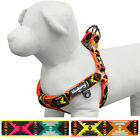 Blueberry Pet Step-in Vintage Tribal Pattern No Pull Neoprene Padded Dog Harness