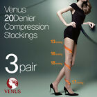 -3 pairs- (Free shipping) Venus 20 denier compression stockings/panty hose/korea