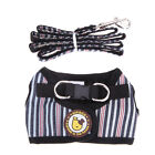 Pet Cat Dog Puppy Adjustable Soft Air Mesh Harness Vest Collar with Lead Leash
