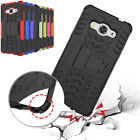 Skid Proof Shock Proof Hybrid Rubber Hard Case with Stand for Apple Samsung HTC
