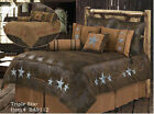 Western Triple Star Comforter Bedding Bedroom Free Shipping