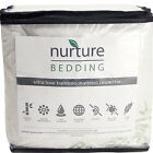 Bamboo Mattress Protector Waterproof Naturally Hypoallergenic Bedding Cover  image
