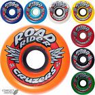 "ROAD RIDER ""Cruzers"" Skateboard Wheels 65mm 78a Transport Soft Fast Cruiser SALE"