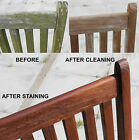 CLEANING TEAK - TEAK CLEANER - QUICK AND EASY,  SAFE WAY TO CLEAN OLD TEAK WOOD