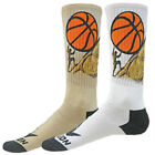 BASKETBALL SISYPHUS Sublimated Athletic Crew Socks unisex greek mythology