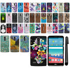 For LG G Stylo LS770 Vista 2 H740 PATTERN HARD Back Case Phone Cover + Pen